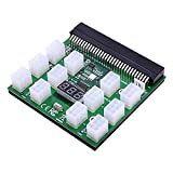 Ashley GAO 12 V Netzteil-Server-Konvertierungsplatine 12 6-polige Adapterkarten, voll kompatibel