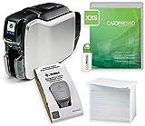 Zebra ZC300 Kartendrucker | Paket mit Plastikkarten und Software von Karteo