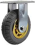 Ldwxxx Heavy Duty 4/5/6/8 Zoll-Industrie-Gummi-Rad-Muffler Directional Rad Wear-Resistant...