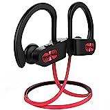 Mpow Flame Bluetooth Kopfhörer, IPX7 Wasserdicht Kopfhörer Sport, 7-10 Stunden Spielzeit/Bass+...