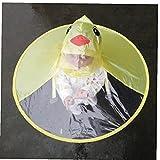 Zonster Cartoon-Ente-Regen-Hut Faltbare Kinderregenmantel Regenschirm Cape Netter...