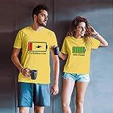 Valentine's Day für Paar Gift - 2% Battery Low & 100% Charged Übereinstimmende Pärchen T-Shirts...