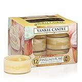Yankee Candle Duft-Teelichte, Vanilla Cupcake, 12er-Packung