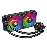 enjoymentlin 240 CPU Kühler 4Pin 12V ARGB LED Heizkörper PC Gehäuse Wasserkühlung für Intel...