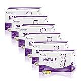 SanaExpert Natalis Vorteilspack: 6x Nahrungsergänzung mit 700 µg DHA, Folsäure, Eisen,...