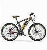 Pendler Stadt Rennrad, Elektrisches Fahrrad, 26' Mountainbike for Erwachsene, Gelände...