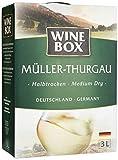 Wine Box Müller-Thurgau Landwein Rhein halbtrocken Bag-in-Box (1 x 3 l)