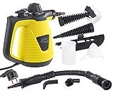 Sichler Haushaltsgeräte Handdampfreiniger: Tragbarer Dampfreiniger mit großem Zubehör-Pack, 1.000...
