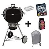 Weber Kugelgrill Master-Touch GBS 57 cm schwarz, Special Edition Pro inkl. Abdeckhaube