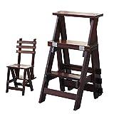 Chair Stuhl, Holz, 3 Stufen, für Erwachsene und Kinder, zusammenklappbar, für den Innenbereich,...