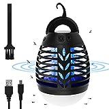 Osaloe Insektenvernichter Camping, 2 in 1 UV LED Mückenlampe und Camping Laterne, wiederaufladbarer...