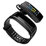 NBVC Bluetooth Farbe Headset Diskussion Smart-Band-Armband Herzfrequenzmonitor Sport Smart Watch...