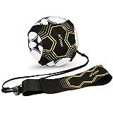 Kuyou Fußball-Kicktrainer, Fußball-Trainingshilfe für Kinder und Erwachsene, freihändiges...