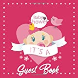Baby Shower Guest Book: Welcome Baby Boy or Girl Sign in Guestbook with predictions, advice for...