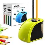Uong Elektrischer Anspitzer, Batterie/Strom betrieben Elektrischer Bleistiftspitzer Automatische...