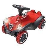 BIG-Bobby-Car Next - Deluxe Variante, Kinderfahrzeug mit LED-Front Scheinwerfer, Flüsterreifen und...