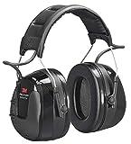 3M Peltor WorkTunes Pro FM Radio Gehörschutz, 32dB - Zuverlässiger Ohrenschutz mit integriertem...