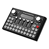 Muslady Voice Changer-Gerät Audio Mixer Live-Soundkarte Smartphone-Computer Eingebaute mehrere...