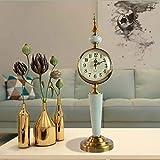 Asncnxdore. Europäischer Retro-Wohnzimmer Schlafzimmer Standuhr Uhr Ornamente Handwerk Schmuck...