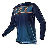 MTB Jersey Raceface, Herren Mountainbike Downhill Trikots MTB Shirt Offroad Motorrad Trikot...