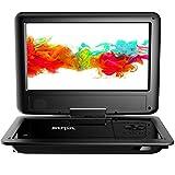 SUNPIN Tragbarer DVD-Player Auto mit 9,5 Zoll HD Schwenkbaren Bildschirm,...