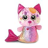 NICI 46825 Original-Glubschis Meerjungfrau Katze Aqua-Marie 15cm-Kuscheltier Augen – Flauschiges...