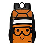 Lsjuee OBS Turtle - Snowboard-Rucksack Unisex School Daily Backpack Leichter...