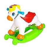 Reiten Spielzeug Schaukelpferd Kinder Kind-Fahrt auf Spielzeug Baby-Schaukelpferd tragbar und...