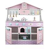 TWFY Küchenspielset vorgeben Essen Küche aus Holz Little Chef Pretend Play Kitchen Kochen...