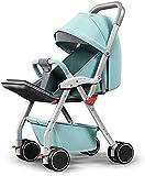 BATOWE Kinderwagen Travel Kinderwagen for Neugeborene Säuglingskleinkind-Kinderwägen High View...