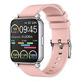 Smartwatch, 1.69 Zoll Touch Farbdisplay Fitness Uhr, mit Pulsmesser und Schlafanalyse,...