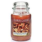 Yankee Candle Duftkerze im Glas (groß)   Cinnamon Stick   Brenndauer bis zu 150 Stunden