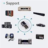 Auto Empfänger Adapter, Bluetooth Empfänger Drahtloser USB Bluetooth Audio Stereo Musik Home...