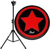 Pearl PDR-08SP Practice Drum Pad Übungspad 8' + KEEDRUM DPS Übungspadständer mit Tasche