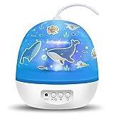 TOFOCO Sternenhimmel Projektor Nachtlicht für Kinder & Baby, Drehend Sternen/Galaxy/Karussell/Ozean...