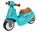 BIG Classic Sport Scooter - Kinder-Laufrad in türkis, echte Rollersounds, robust, hohe...