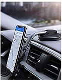 AUKEY Handyhalterung Auto ArmaturenbrettMagnetische360-Grad-Drehung KFZ Handy Halterung Kompatibel...