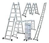 14-in-1 4.7m Folding Multi-Function Leiter mit 1 Werkzeug der Produktplatte EN131 Teil 1 und 2...