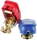 KDLK 12-V-Autobatterie-Schnelltrennklemmen, Batterie-Schnellverschlussanschlüsse Geeignet für alle...