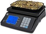 ZZap MS20+ Münzzählwaage Mit Batterie - Münzwaage Zählwaage Münzzähler Geldzählmaschine