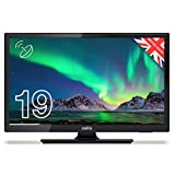 Cello ZSO291 Digitaler LED-TV mit Freeview und eingebautem Satelliten-Tuner, 48,9 cm, Schwarz