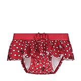 Steiff Baby-Mädchen Schwimmwindel, Rot (Tango Red 4008), 74 (Herstellergröße: 074)
