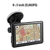 Purebesi GPS Navi Navigation Für Auto LKW PKW 5 Zoll Navigationsgerät, GPS-Autonavigation...
