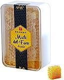 Italienischer Honigwabe in Akazien-Honig, in hochwertiger Frischebox | 200gr