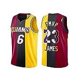 TNXO Lebron James MVP Basketball Jersey für Männer, Cleveland Cavaliers Miami Heat Los Angeles...