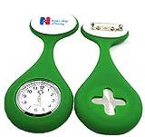 B/H Taschenuhr/Krankenschwesteruhr,Silikon Krankenschwester Uhr, medizinische Taschenuhr mit...