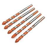 3 bis 12 mm Dreieck-Spiralbohrer für Betonglas-Keramikfliesen-Marmor-Rundschaft-Wandsägebohrungen