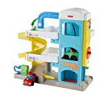 Fisher-Price FHG50 - Little People Parkhaus mit 2 Wheelies Fahrzeugen, Kleinkind Spielzeug ab 18...