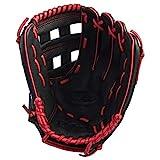 Wilson A360 Baseballhandschuh für Linkshänder, 12 Inch, Schwarz/Rot