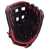 Wilson A360 Baseballhandschuh fr Linkshnder, 12 Inch, Schwarz/Rot